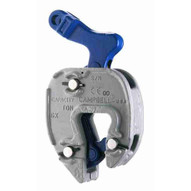 Campbell 6423900 Gx Plate Clamp With Chain Connector 1 16- 5 8 Grip 1 2 Ton Wll-1