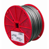 Campbell 7000426 1 8 7 X 7 Type 304 Stainless Steel Cable 250 Feet Per Reel-1