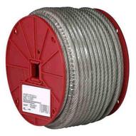 Campbell 7000797 316 7 X 19 Cable Hi Viz Orange Vinyl Coated To 14 250 Feet Per Reel-1