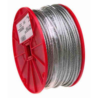 Campbell 7000827 1 4 7 X 19 Cable Galvanized Wire 250 Feet Per Reel-1