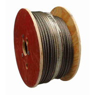 Campbell 7008427 1 2 6 X 19 Fiber Core Wire Rope Rust Prohibitive 250 Feet Per Reel-1
