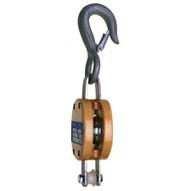 Campbell 7205636 3001af 6 Single Regular Wood Shell Block Bronze Bushed Galvanized-1