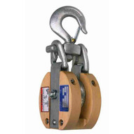 Campbell 7267186 3072v 6 Wood Safety Locking Snatch Block Sl Bronze Bushed Galvanized-1