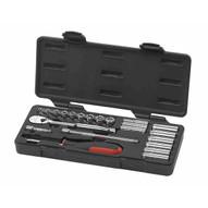 Gearwrench 80325 22 Pc. 14 Drive Sae Socket Set (standarddeep)-1