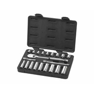 Gearwrench 80557 21 Pc. 38 Drive Sae Socket Set (standarddeep)-1