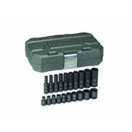 Gearwrench 84900 20 Pc. Impact Socket Set Sae 14 Drive-1