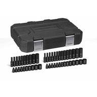 Gearwrench 84902 48 Pc. Impact Socket Set Saemetric 14 Drive-1