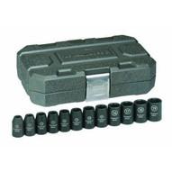 Gearwrench 84930 12 Pc. Impact Socket Set Metric 12 Drive-1