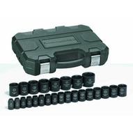 Gearwrench 84933 25 Pc. Impact Socket Set Metric 12 Drive-1