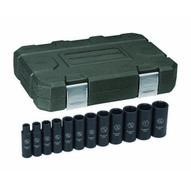 Gearwrench 84942 12 Pc. Impact Socket Set Deep Sae 12 Drive-1