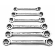 Gearwrench 9260 6 Pc. Double Box Ratcheting Wrench Set Metric-1