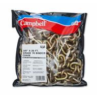 Campbell T0513678 38 X 20' Grade 70 Binder Chain Wclevis Grab Hooks 3 Per Pail-1