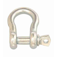 Campbell T9600835 12 Anchor Shackle Screw Pin Zinc Plated (5 In A Box)-1