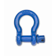 Campbell T9640605 38 Farm Clevis Forged Blue Powder Paint (10 In A Box)-1