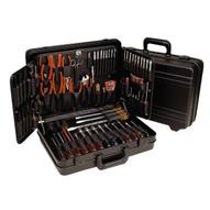 Xcelite TCMB100ME 17 34 x 12 58 x 5 34 Black Polyethylene Attache Tool Case-No Tools-1