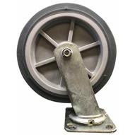 Jescraft CTR-8PLS Caster - 8 Polyurethane (Swivel)-1