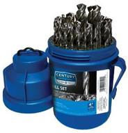 Century Drill & Tool 22529 29 Piece Brite Drill Bit Podset-1