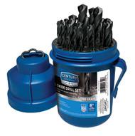Century Drill & Tool 24329 29 Piece Pro Grade Black Oxidedrill Bit Set-1