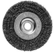 Century Drill & Tool 76843 4 X 12 Fine Bench Grinder.0008 Wire Wheel-1
