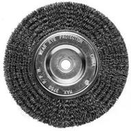 Century Drill & Tool 76861 6 X 1258 Coarse Benchgrinder .0118 Wire Wheel-1