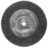Century Drill & Tool 76868 8 X 1258 Coarse Benchgrinder .0118 Wire Wheel Wide-1