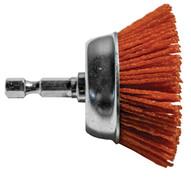 Century Drill & Tool 77221 2 Coarse Nylon Cup Brush Hexshank-1