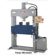 Dake Force 70 70-ton Electrically Operated H-frame 220440-3 Ph-1