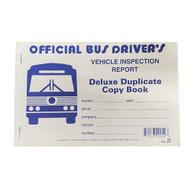 J.J. Keller 25BL Bus Driver's Vehicle Inspection Report Book-2