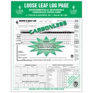 J.J. Keller 612MP 5-in-1 Driver's Daily Log Loose-leaf Format - Retail Packaging-1
