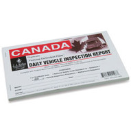 J.J. Keller 734B Driver's Vehicle Inspection Report Carbonless Canadian-1