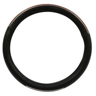 Roadpro(r) RPSW3005 18 Microfiber Steering Wheel Cover With Wood Grain Accent-1