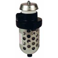 Dixon Valve F23-04M 12 Exhaust Muffler Transparent Bowl Wguard Manual Drain-1