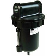 Dixon Valve F602-08WJR 1 Standard Filter Auto Drain Zinc Bowl Wsight Glass-1