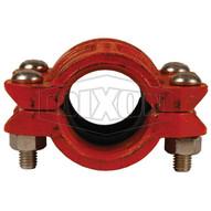 Dixon Valve HDPE600 6 High Density Polyethylene Hdpe Cplg Ductile Iron Wepdm Gasket-1