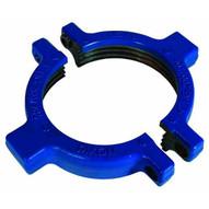 Dixon Valve HU200600RN 6 Blue Hammer Union Split Nut For Fig 200206 Forged Steel Wbolts-1