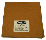 Dixon Valve SG750 34 Width .031 Thick Galvanized Strapping 100 Foot Box-1