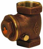 Dixon Valve SWCV400 4 Brass Swing Check Valve Horizontal Fnpt 521t11-1