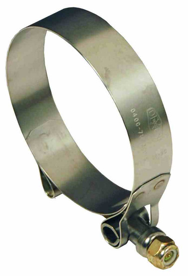 Dixon Valve TBC450 Stainless Steel T-bolt Clamp 4.5 Id Hose Od 4.266 To 4.562-1
