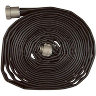 Dixon Valve WDH15BK100UC 1-12 X 100' Black Nitrile Wash Down Hose - Uncpld-1