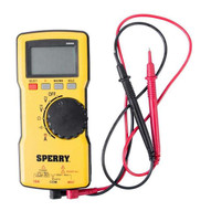 Sperry DM6800 Digital Thin Multimeter Autoranging 600V ACDC 10A Yellow-2