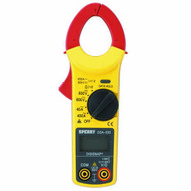 Sperry Instruments DSA500A Clamp Meter Snap-around Digital Lcd 5-funct Ac Current Acdc Volt Resist Continuity 9 Auto Range 400-amp 1 Each-1