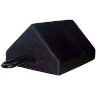 Durable Corp M-WC-5810 Rubber Wheel Chock 8 X 5 X 10-1
