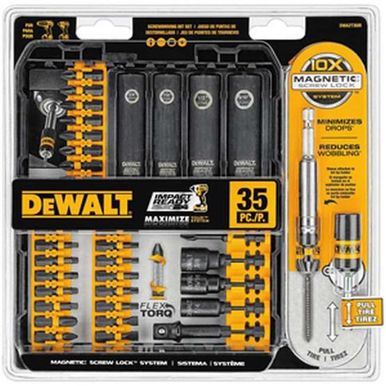 Dewalt-black And Decker Inc DWA2T35IR 35 Pc Impact Readyscrewdriving Set-2