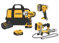 Dewalt-black And Decker Inc DCK397HM2 20v Max Li-ion 3 Pc Tool Combokit-1