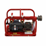 Rice Hydro EL-FHT 2 Outlet Fire Hose Tester 500 PSI Triplex Plunger Electric Motor-1