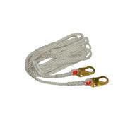 Elk River 34125 Nylon Rope Lifeline 25'-1