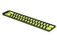 Ernst Manufacturing Inc 8462HV Hi-viz 2 Rail Twist Locksocket Boss 18 38 Drive-1