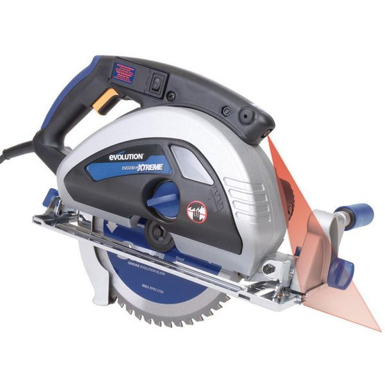 Evolution EVOSAW230 9 TCT Steel Cutting Circular Saw Includes 230BLADEST Blade-4