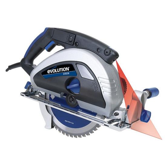 Evolution EVOSAW230 9 TCT Steel Cutting Circular Saw Includes 230BLADEST Blade-8