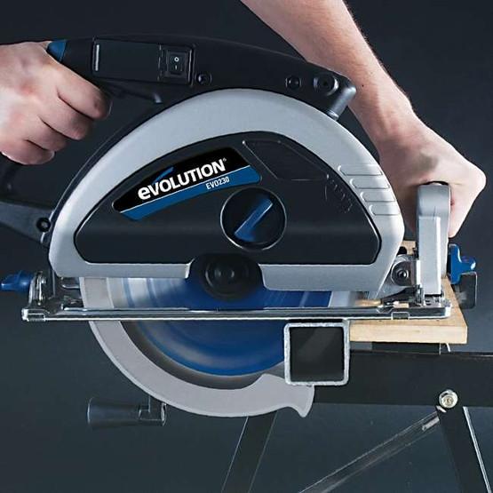 Evolution EVOSAW230 9 TCT Steel Cutting Circular Saw Includes 230BLADEST Blade-1